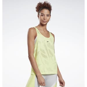 Reebok Women's Perforated Tank Top for $12