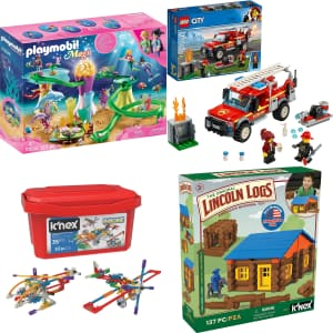 Construction Toys at Amazon: up to 74% off w/ Prime