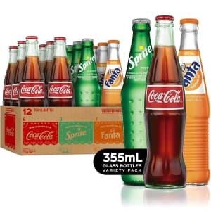 Coca-Cola 12-oz. Mexican Coke Fiesta 12-Pack for $18