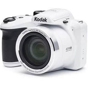 "Kodak AZ401-WH PIXPRO 16MP Digital Camera, 3"", White for $149"
