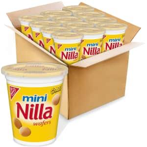 Nilla Wafers Mini 2.25-oz Go-Paks 12-Pack for $8.40 via Sub & Save