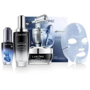 Lancome at Macy's: 20% off + 3-Pc. Gift Set w/ $150 or more