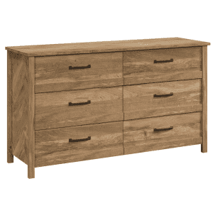 Sauder Cannery Bridge 6-Drawer Dresser for $252