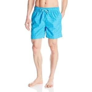 Kanu Surf Men's Apollo Swim Trunks (Regular & Extended Sizes), Charles Aqua, X-Large for $17