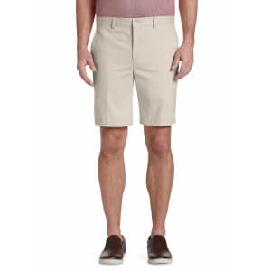 Jos. A. Bank Men's Big & Tall Traveler Collection Tailored Fit Twill Shorts for $5
