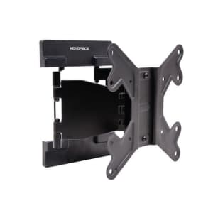 Monoprice Ultra-Slim Full-Motion Articulating TV Wall Mount Bracket - for TVs 23in to 42in Max for $40