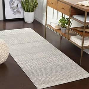 "Artistic Weavers Hana Area Rug 2'7"" x 7'3"", Silver Grey for $63"