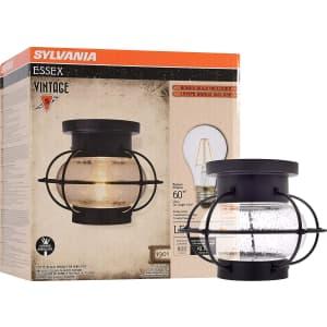 Sylvania Essex Cage Light Fixture for $22