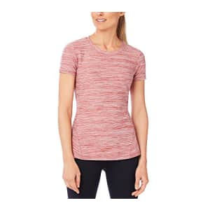 SHAPE activewear Women's Trail Tee, Upper Rust Heather, Large for $37