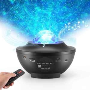 YYT Laser Star Projector Night Light Projector for $20