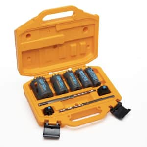 Spyder 9-Piece Carbide-Tipped Non-Arbored Hole Saw Kit Set for $70