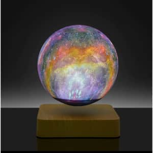 Magnetic Levitation LED Lamp for $89