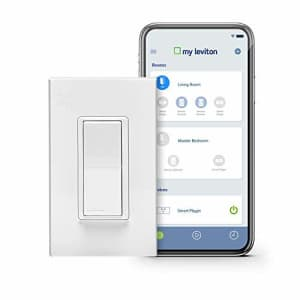 Leviton DW15S-1BZ Decora Smart Wi-Fi 15A Universal LED/Incandescent Switch, Works with Amazon for $80