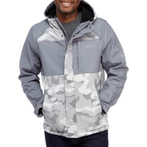 Skechers Men's Camouflage Softshell Jacket for $50