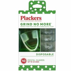 Plackers Grind No More Dental Night Guard 10-Count for $12 via Sub & Save