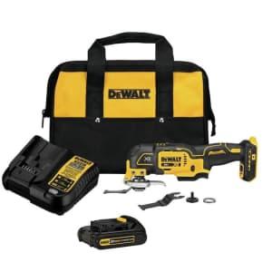 DeWalt 20V MAX 3-Speed Cordless Oscillating Multi-Tool Kit for $144