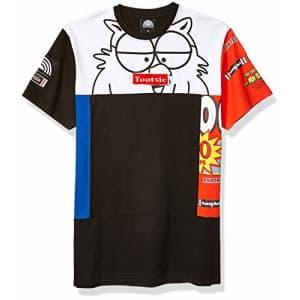 Southpole Men's Tootsie T-Shirt, Black Velvet, Large for $18
