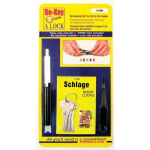 Prime-Line 5-Pin Re-Keying Kit for $11