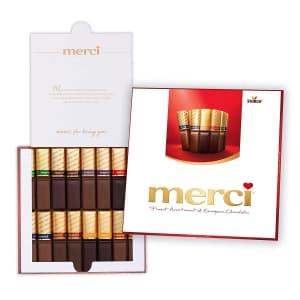 Merci 7-oz. Assorted European Chocolates Box for $13