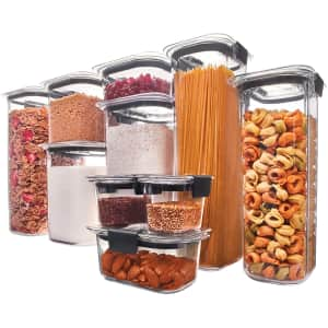 Rubbermaid Brilliance Pantry 10-Piece Set for $60