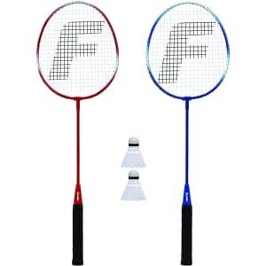 Franklin Sports 2-Player Badminton Racquet Set for $10