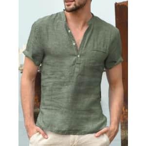 Men's V-Neck Shirt: 3 for 11