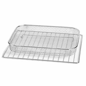 Dash DAFT2350UPAB01 Chef Series Air Fry Oven Basket Accessory, Standard, SS (Renewed) for $24
