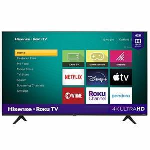 Hisense 65-Inch Class R6090G Roku 4K UHD Smart TV with Alexa Compatibility (65R6090G, 2020 Model) for $888