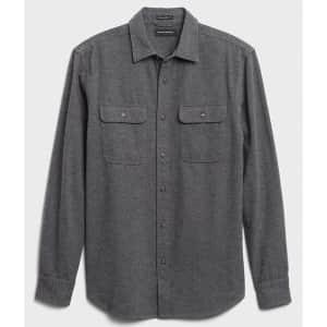 Banana Republic Factory Men's Redwood Shirt for $17 in cart
