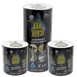 The Original Fix Tape Rubberized Seal Tape 3-Pack for $17