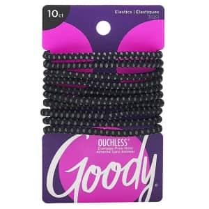 Goody SlideProof 4mm Elastic Hair Tie 10-Pack for $2.33 via Sub & Save