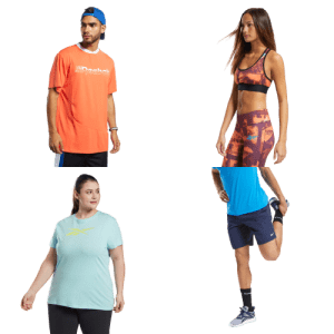 Reebok Outlet Activewear: 50% to 65% off