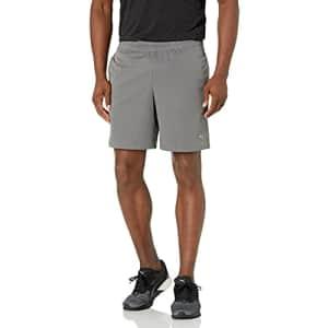 "PUMA Men's Performance 7"" Woven Shorts, Castlerock, S for $21"
