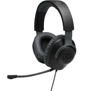 JBL Quantum 100 Wired Gaming Headset for $30