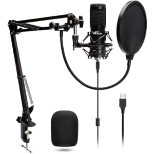 VeGue USB Condenser Microphone Kit for $35