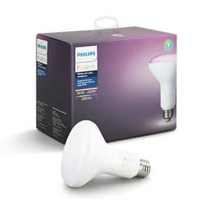 Philips Hue Single Premium BR30 Smart Bulb Downlight for 5-6 inch recessed cans, 16 million colors for $75