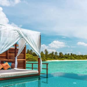 5-Night 5-Star Maldives Island Resort Stay through December '22 at Travelzoo: for $1,695 for 2