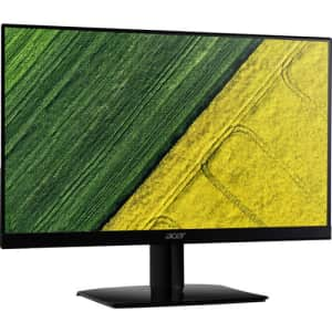"""Acer HA270 Abi 27"""" 1080p IPS Gaming Monitor for $130"""