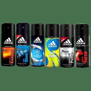 adidas Men's 5-oz. Deodorant 6-Pack for $24