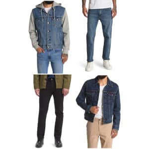 Levi's Men's Jeans and Jackets at Nordstrom Rack: Up to 66% off