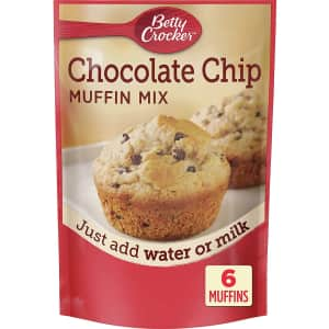 Betty Crocker Chocolate Chip Muffin Mix 6.5-oz. Package 9-Pack for $8