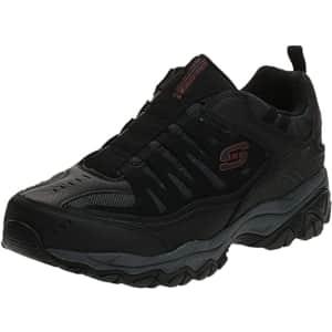 Skechers Sport Men's Afterburn Memory Foam Shoes for $32