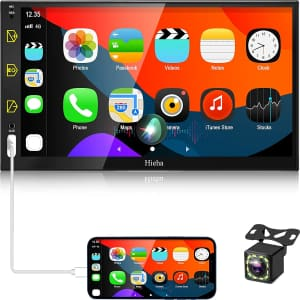 """Hieha 7"""" Double Din Car Stereo for $97"""