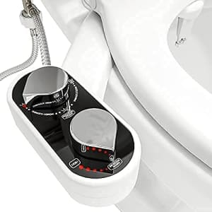 Clear Rear Buttler Bidet Toilet Seat Attachment for $35