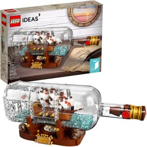 LEGO Ideas Ship in a Bottle for $49 w/ Prime