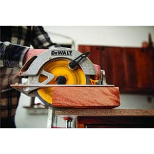 DEWALT DW3176 Construction Series 7-1/4-Inch 36-Tooth Thin Kerf Finishing Saw Blade with 5/8-Inch for $15