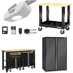 Garage Storage and Door Openers at Home Depot: Up to 30% off