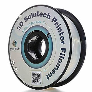 3D Solutech ST175CLPLA Natural Clear 1.75mm 3D Printer PLA Filament, Dimensional Accuracy +/- 0.03 for $25