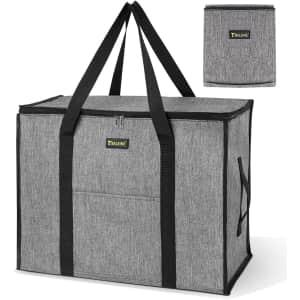 Baleine Zipper Storage Tote with Handles for $14