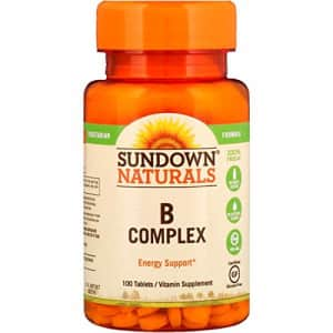 Sundown Naturals B-Complex Energy Support, 100 Tablets each (1 Pack) for $9